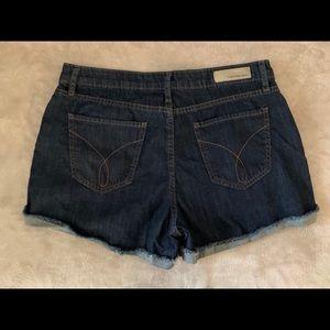 Calvin Klein Jeans Rolled Denim Jean Shorts